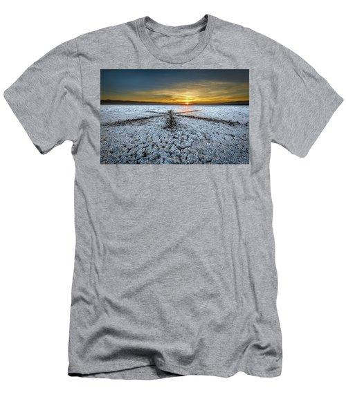Sunrise At Soda Lake Men's T-Shirt (Athletic Fit)