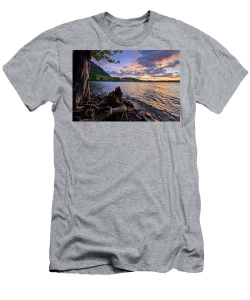 Sunrise At Waterton Lakes Men's T-Shirt (Athletic Fit)