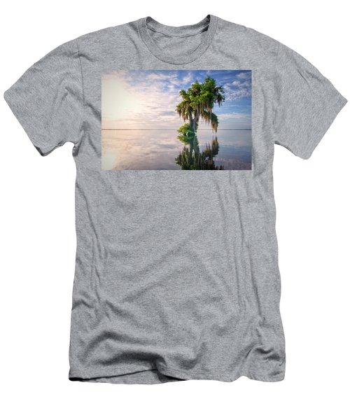 Sunrise Dip Men's T-Shirt (Athletic Fit)