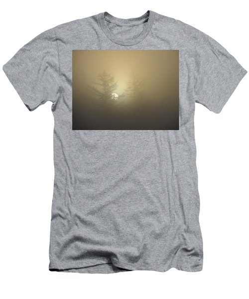 Sunrise Fogged - 1 Men's T-Shirt (Athletic Fit)