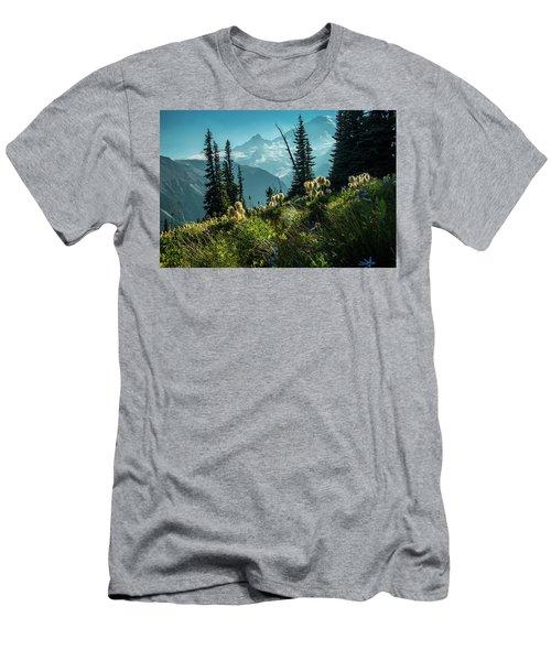 Sunrise Heaven Men's T-Shirt (Athletic Fit)