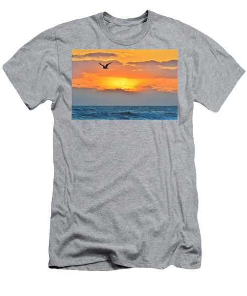 Sunrise In Nags Head Men's T-Shirt (Athletic Fit)