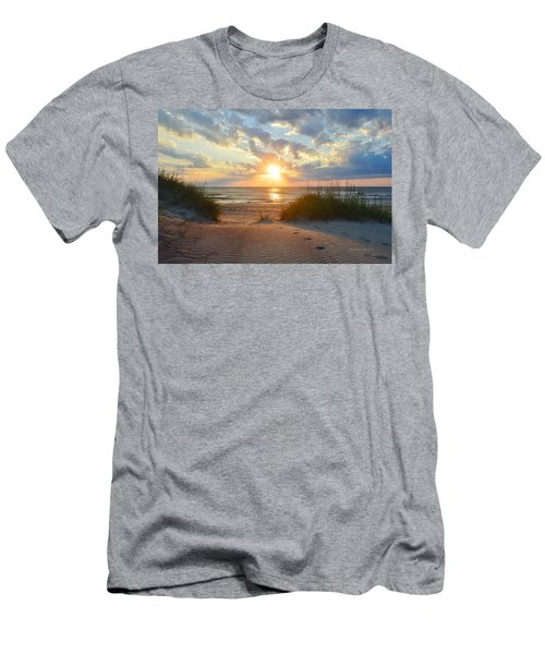 Sunrise In South Nags Head Men's T-Shirt (Athletic Fit)