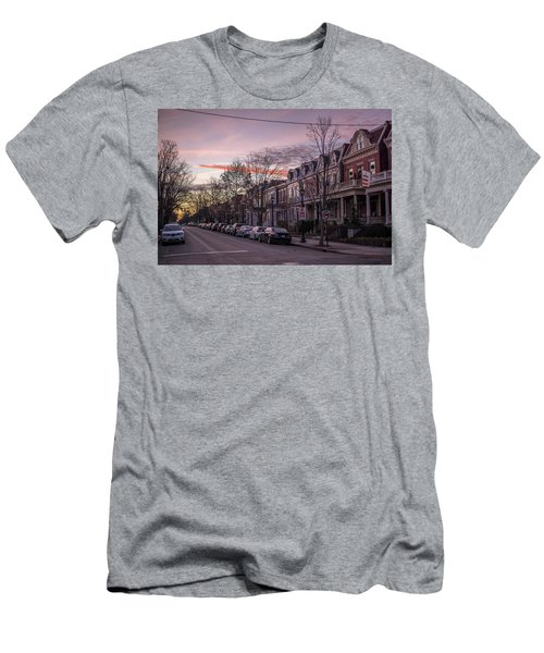 Sunrise In The Fan Men's T-Shirt (Athletic Fit)