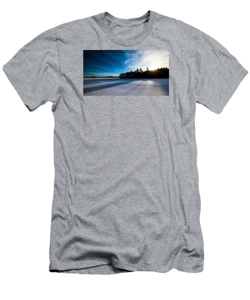 Sunrise In Winter Men's T-Shirt (Athletic Fit)