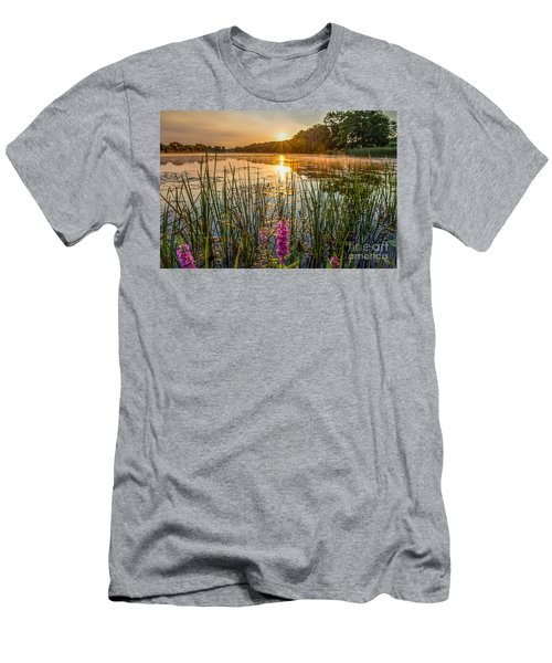 Sunrise Kent Lake Men's T-Shirt (Athletic Fit)
