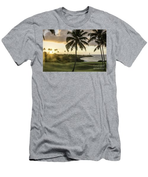 Sunrise Ninini Point, Kauai Men's T-Shirt (Athletic Fit)