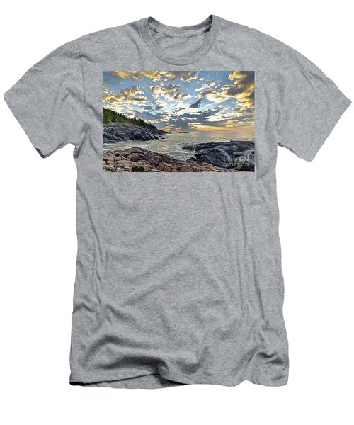 Sunrise On Christmas Cove Men's T-Shirt (Athletic Fit)