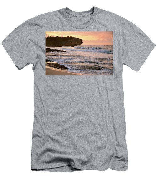 Sunrise On Shipwreck Beach Men's T-Shirt (Athletic Fit)