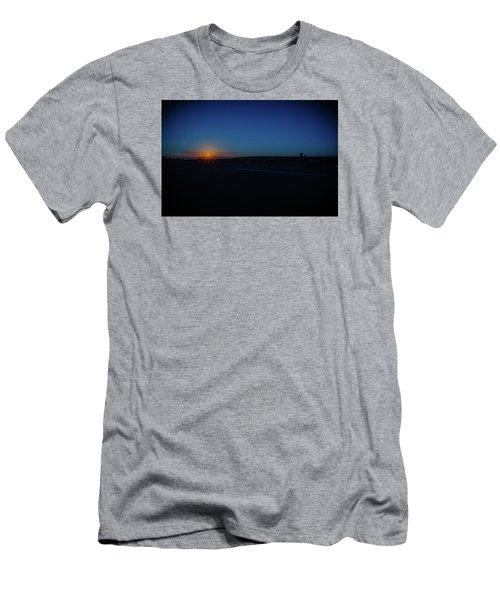 Sunrise On The Reservation Men's T-Shirt (Slim Fit) by Mark Dunton