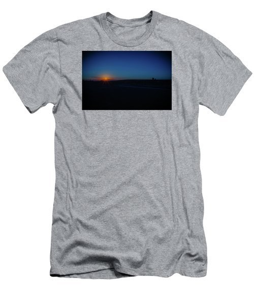 Sunrise On The Reservation Men's T-Shirt (Athletic Fit)