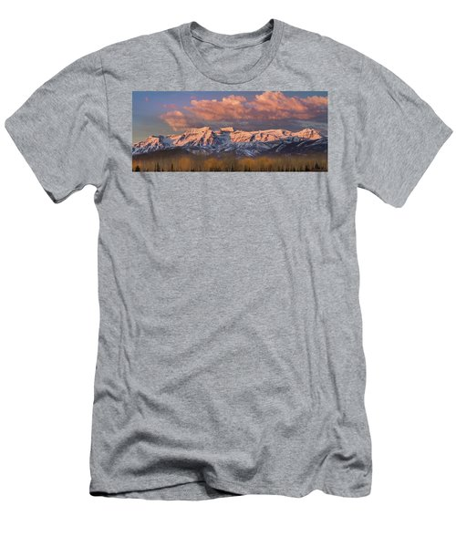 Sunrise On Timpanogos Men's T-Shirt (Athletic Fit)
