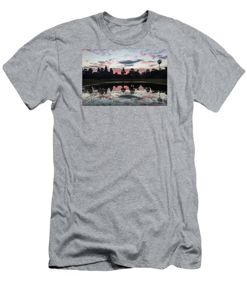 Sunrise Over Angkor Wat Men's T-Shirt (Athletic Fit)