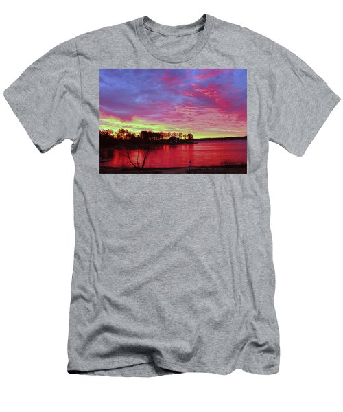 Sunrise Over Lake Murray Men's T-Shirt (Athletic Fit)