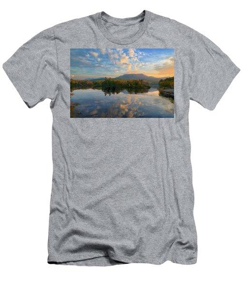 Sunrise Over Mt. Katahdin Men's T-Shirt (Athletic Fit)