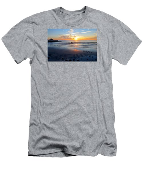 Sunrise Over Red Rock Park Lynn Shore Drive Men's T-Shirt (Athletic Fit)