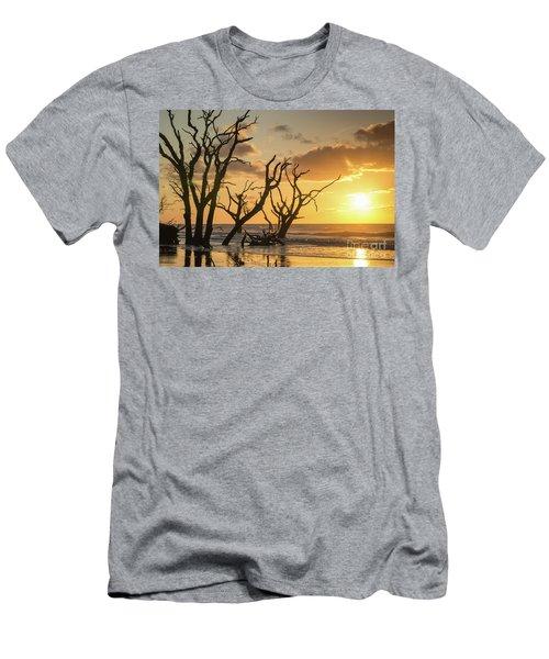 Sunrise Over Sea Men's T-Shirt (Athletic Fit)