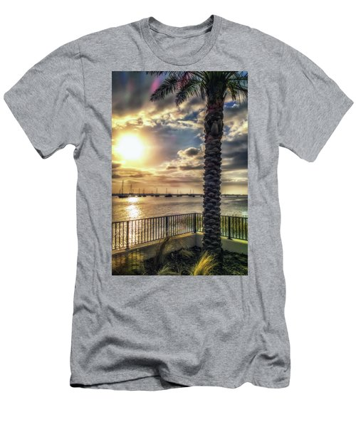 Sunrise Over The Matanzas Men's T-Shirt (Athletic Fit)