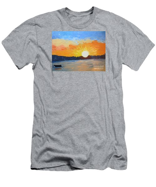 Sunrise At Pine Point Men's T-Shirt (Athletic Fit)