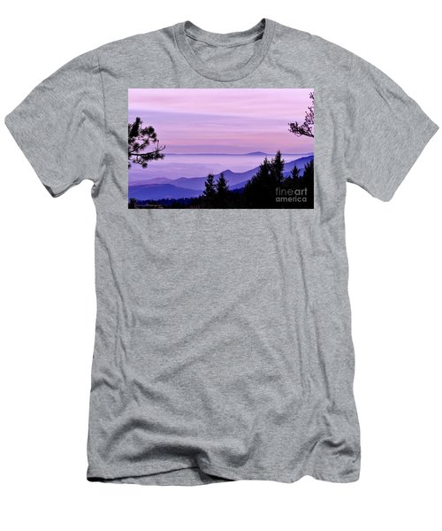 Sunrise Silhouettes Men's T-Shirt (Athletic Fit)
