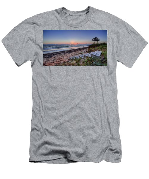 Sunrise Stairs Men's T-Shirt (Athletic Fit)