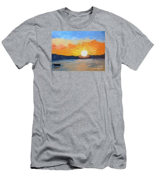 Sunrise Sensation Men's T-Shirt (Athletic Fit)