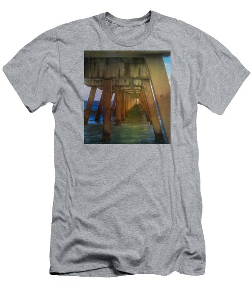 Sunrise Under The Pier Men's T-Shirt (Athletic Fit)
