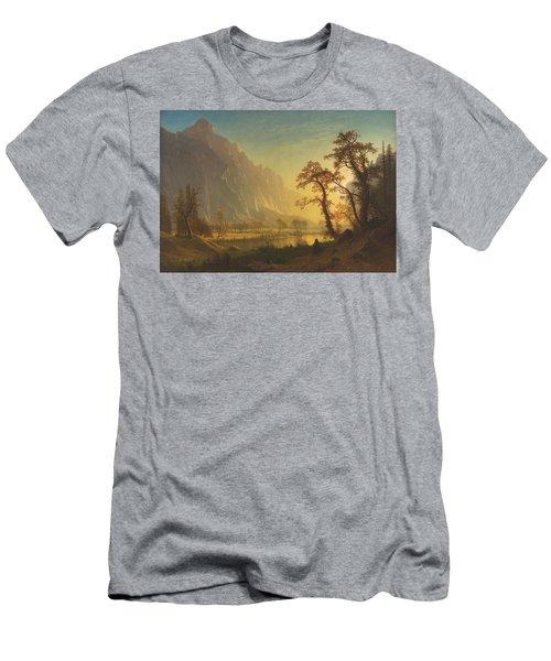 Sunrise, Yosemite Valley Men's T-Shirt (Athletic Fit)