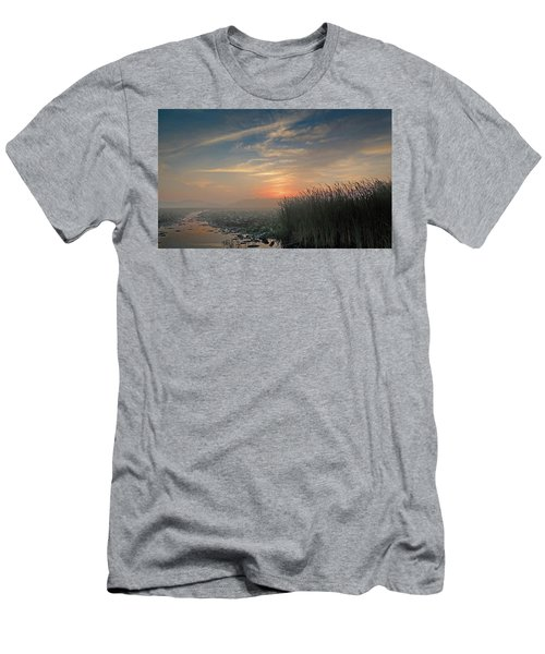 Sunrise Through The Fog Men's T-Shirt (Athletic Fit)