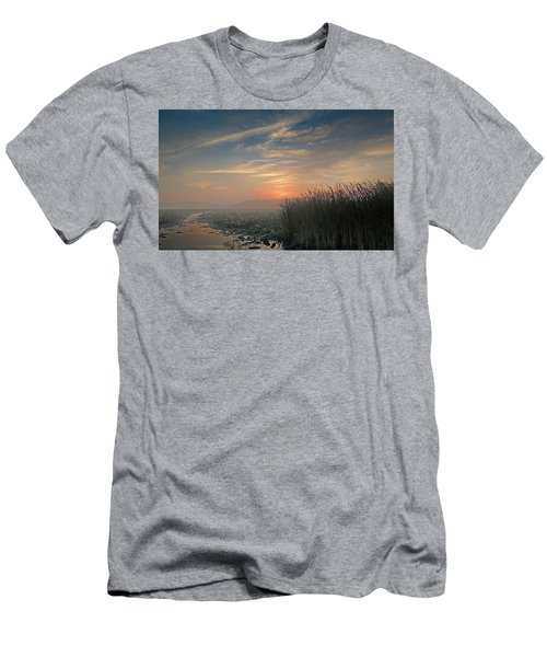 Sunrise Through The Fog Men's T-Shirt (Athletic Fit)