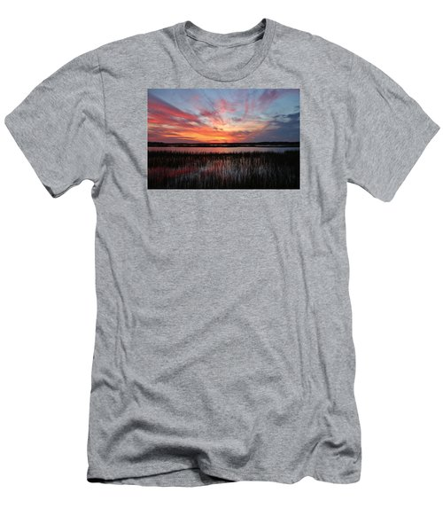 Sunset And Reflections 2 Men's T-Shirt (Athletic Fit)