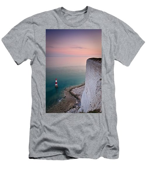 Sunset At Beachy Head Men's T-Shirt (Athletic Fit)