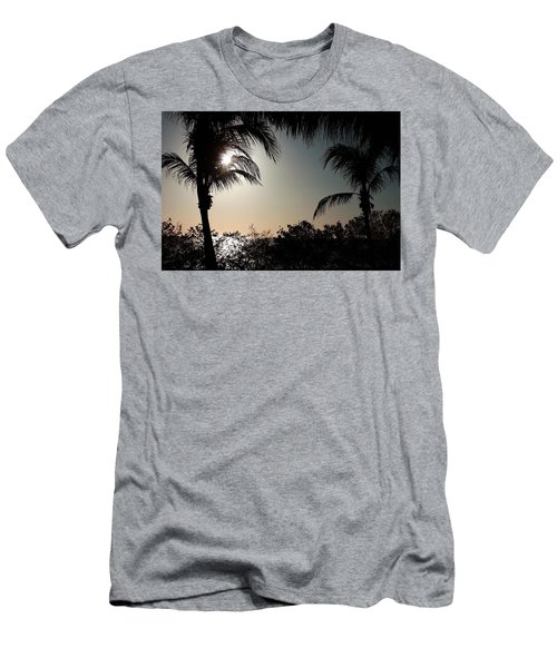 Sunset At Flamingo 1 Men's T-Shirt (Athletic Fit)