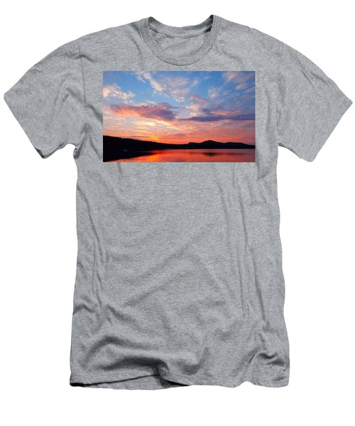 Sunset At Ministers Island Men's T-Shirt (Athletic Fit)