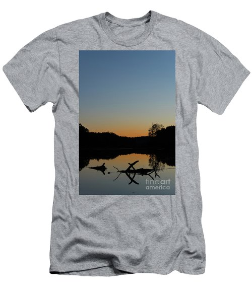 Sunset At Paulinskill Lake Men's T-Shirt (Athletic Fit)
