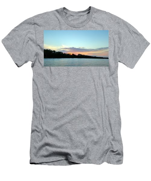 Sunset At The Lake Men's T-Shirt (Athletic Fit)