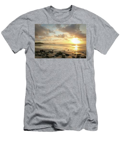 Sunset Beach Delight Men's T-Shirt (Athletic Fit)