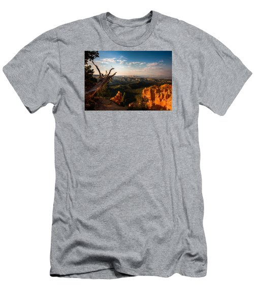 Men's T-Shirt (Slim Fit) featuring the photograph Sunset Bryce by Rebecca Hiatt