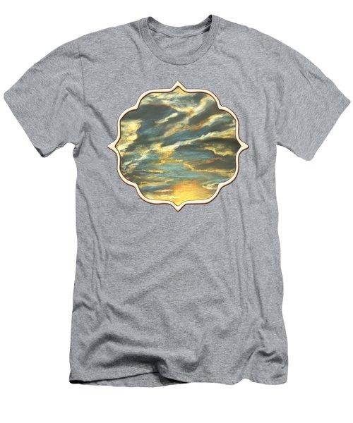Sunset Clouds Men's T-Shirt (Athletic Fit)