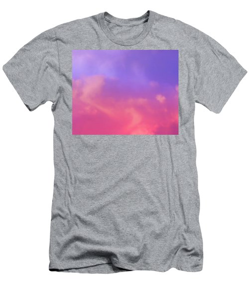 Sunset Clouds Men's T-Shirt (Athletic Fit)