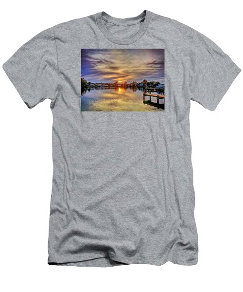 Sunset Creek Men's T-Shirt (Athletic Fit)