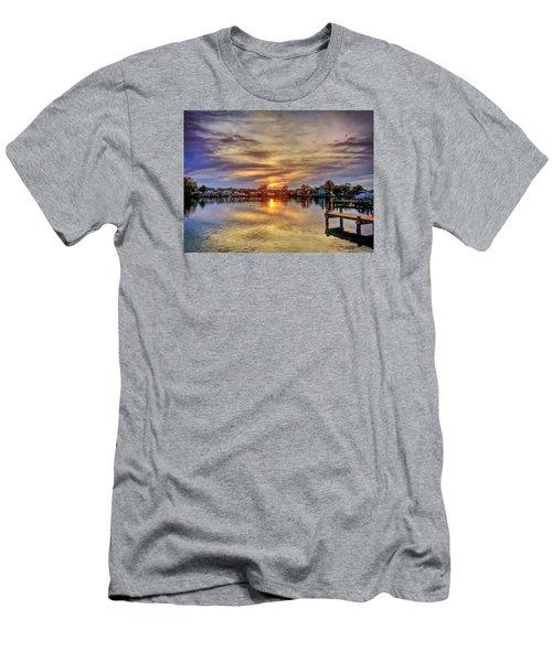 Sunset Creek Men's T-Shirt (Athletic Fit)