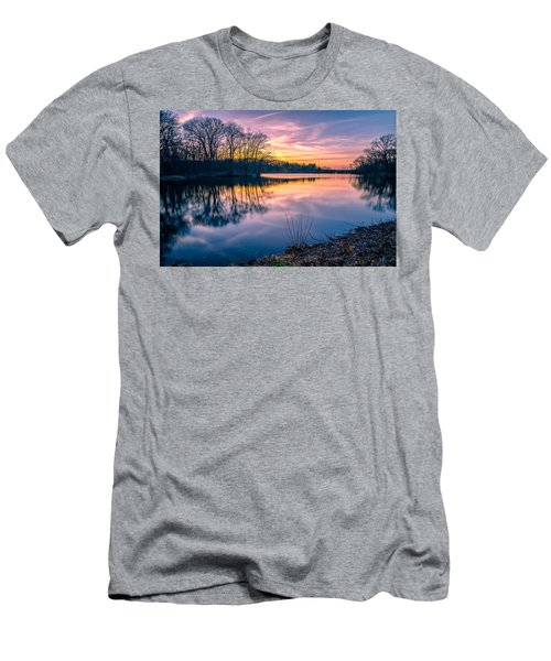 Sunset-dorothy Pond Men's T-Shirt (Slim Fit) by Craig Szymanski