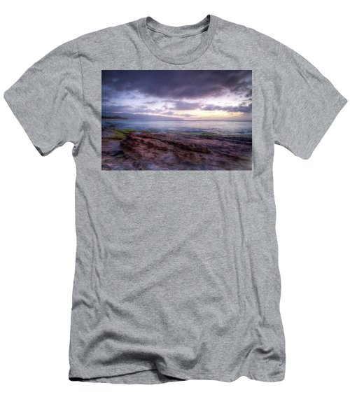 Men's T-Shirt (Athletic Fit) featuring the photograph Sunset Dream by Break The Silhouette
