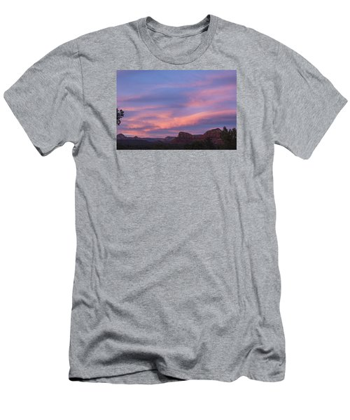 Sunset From Bell Rock Trail Men's T-Shirt (Athletic Fit)
