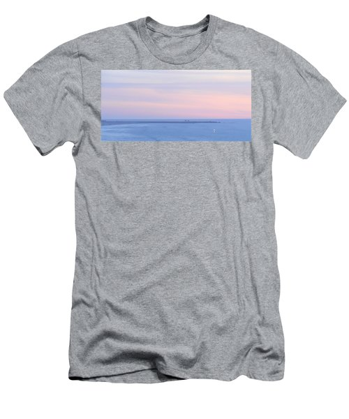Sunset From Irish Beach Men's T-Shirt (Athletic Fit)