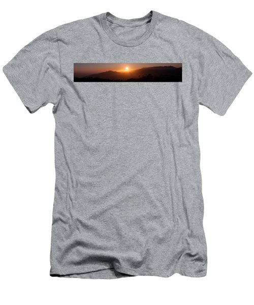 Sunset From Marine Headlands San Francisco Men's T-Shirt (Athletic Fit)