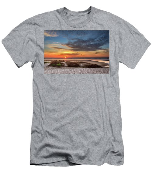 Men's T-Shirt (Athletic Fit) featuring the photograph Sunset In Florence by James Eddy