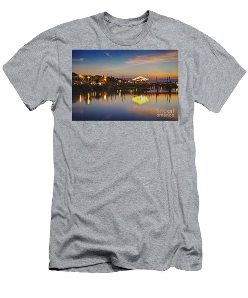 Sunset In Hoi An Vietnam Southeast Asia Men's T-Shirt (Athletic Fit)
