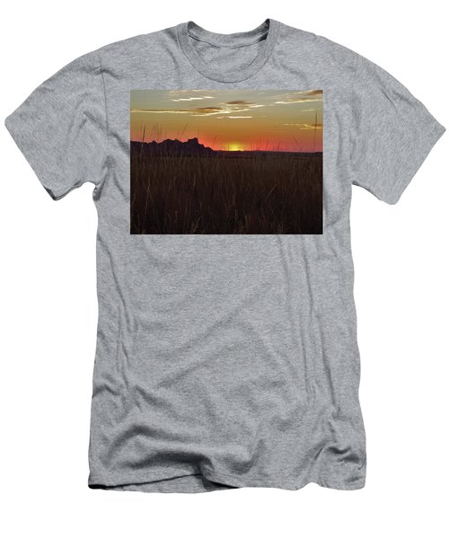 Sunset In The Badlands Men's T-Shirt (Athletic Fit)